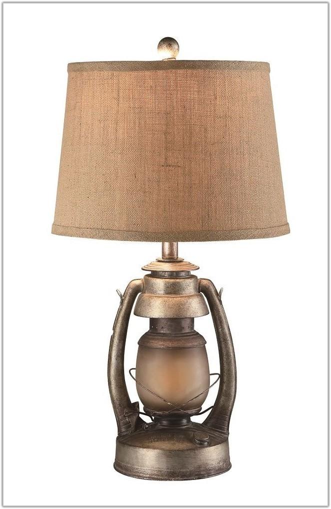 Table Lamp With Lantern Night Light