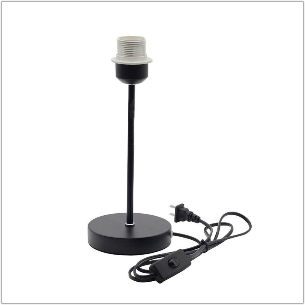 Table Lamp With Plug In Base