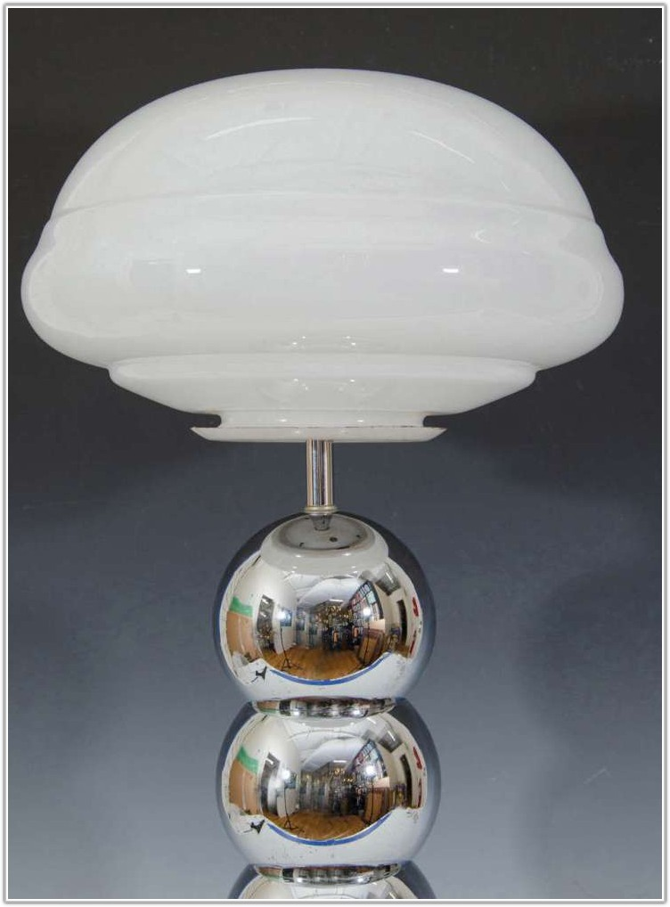 Table Lamps With Frosted Glass Shades