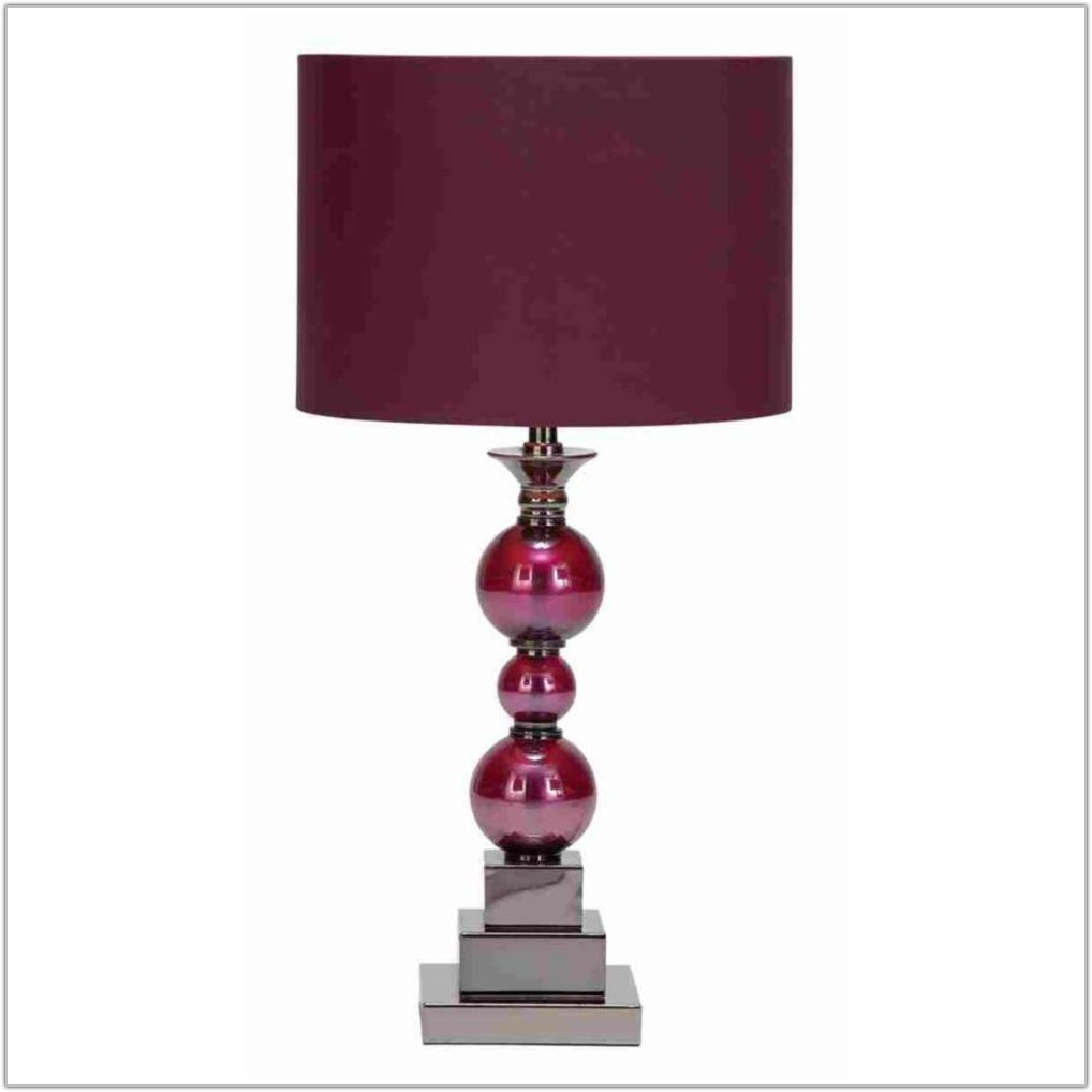 Table Lamps With White Glass Shades