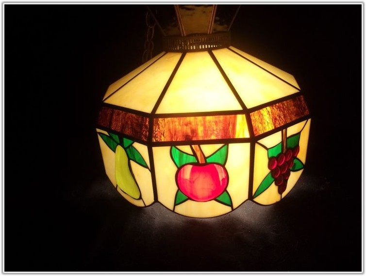 Tiffany Style Hanging Lamps Fruit