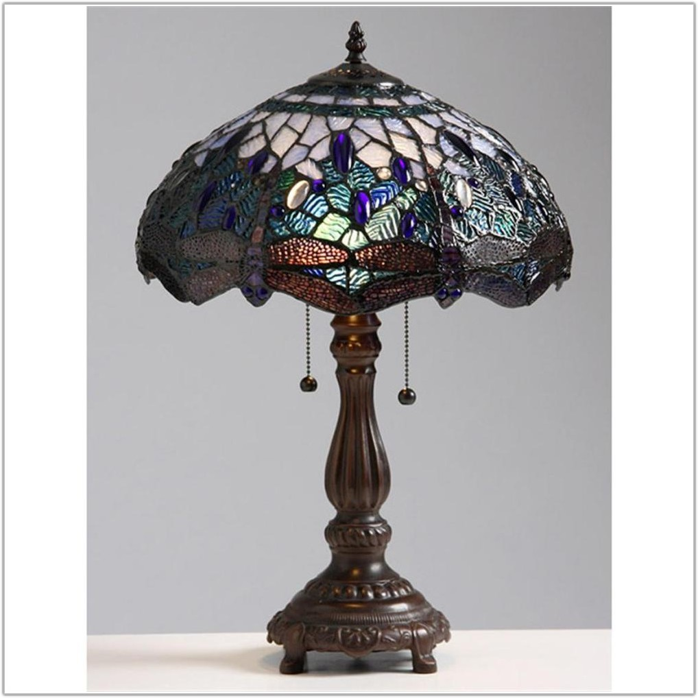 Tiffany Style Table Lamp Blue