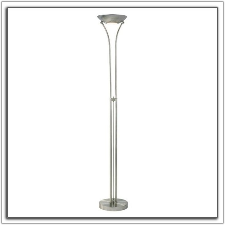 Uplighter Floor Lamp With Dimmer Switch Lamps Home