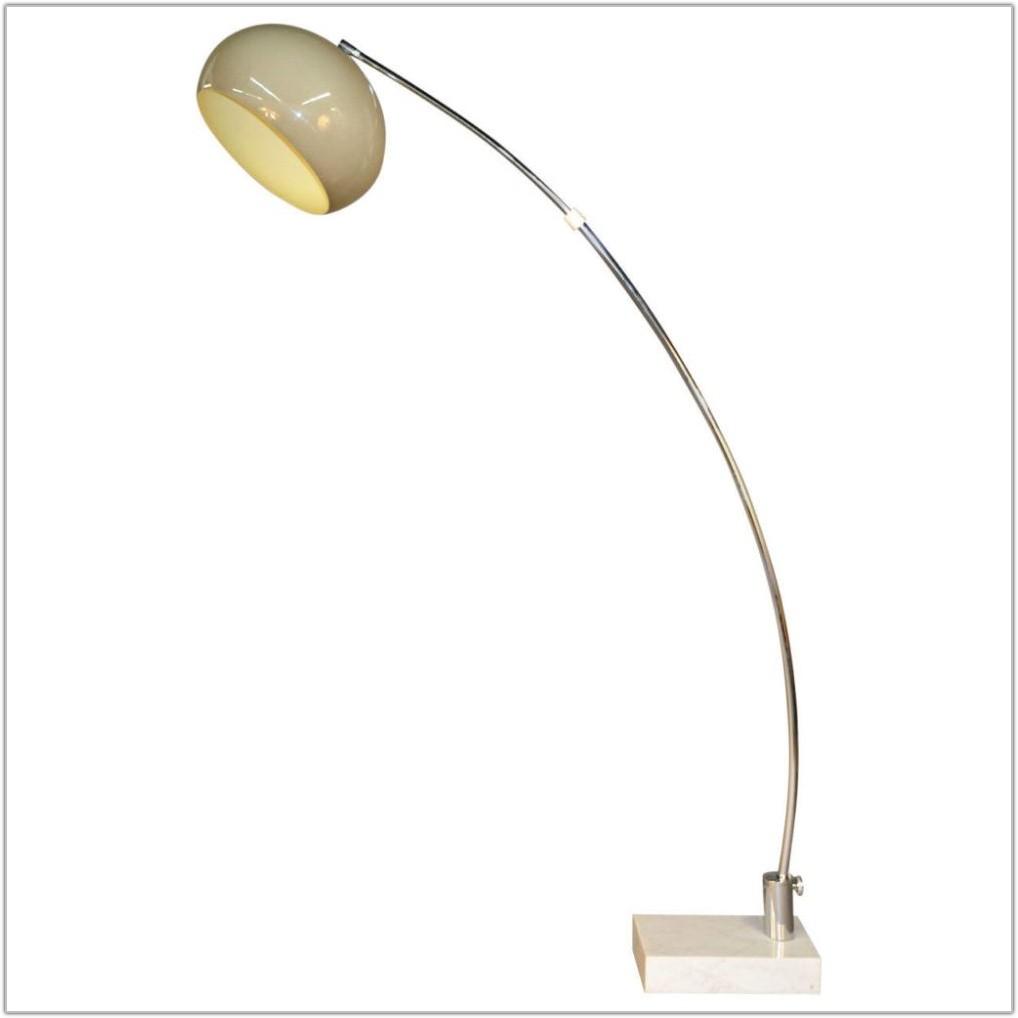 Vintage Arc Floor Lamp Marble Base Lamps Home