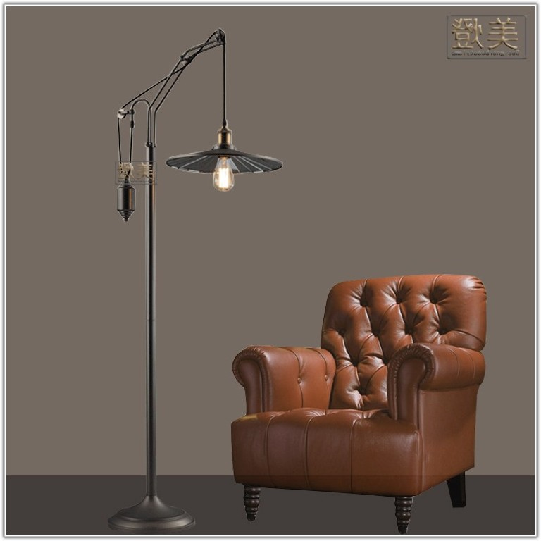 Vintage Industrial Floor Lamp Uk