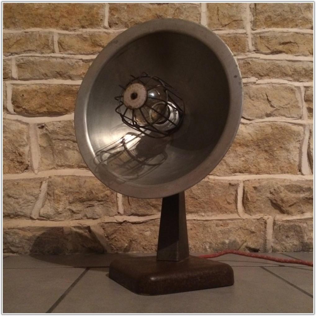 Vintage Metal Floor Table Lamp
