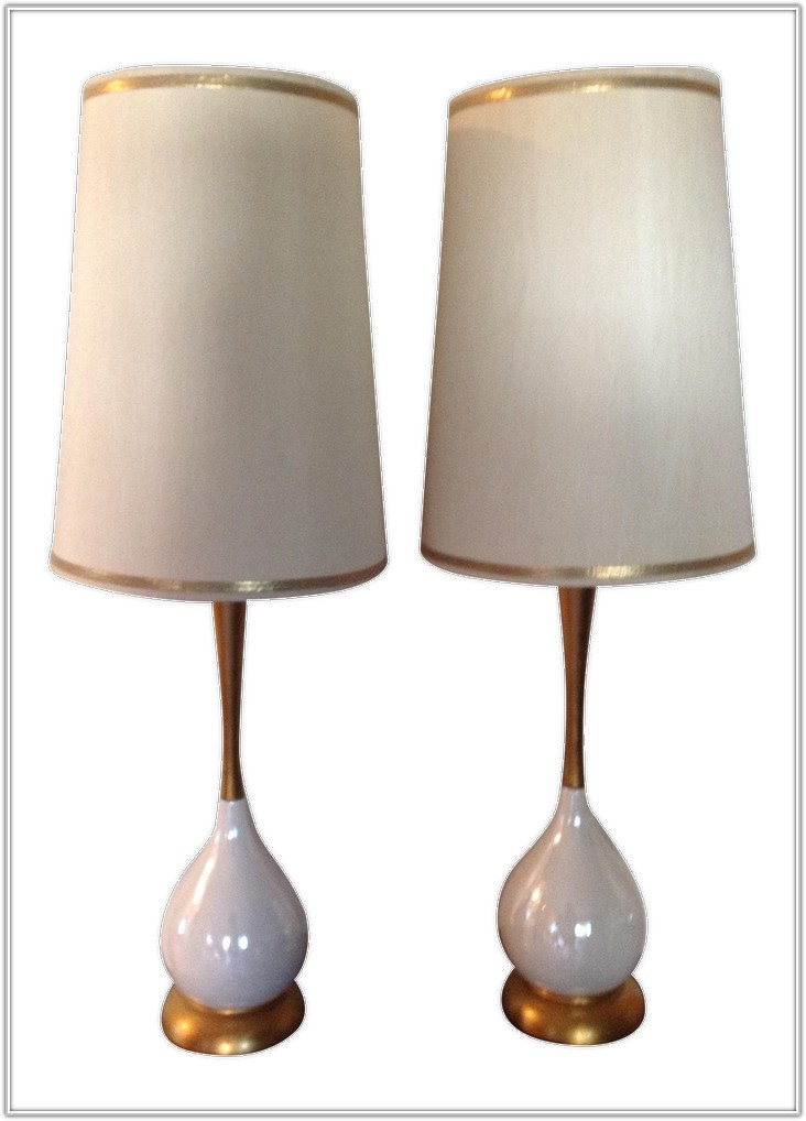 Vintage Mid Century Table Lamps
