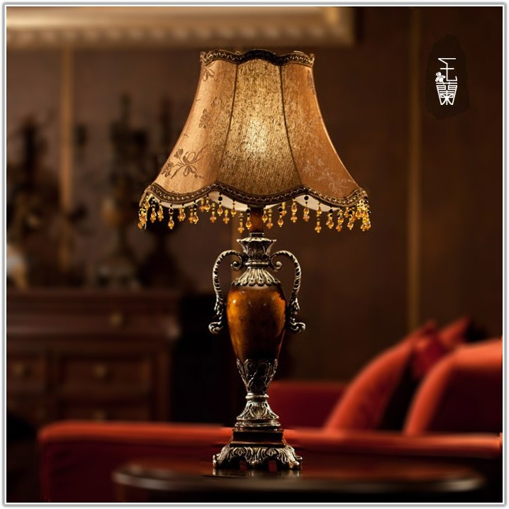 Vintage Table Lamps For Bedroom