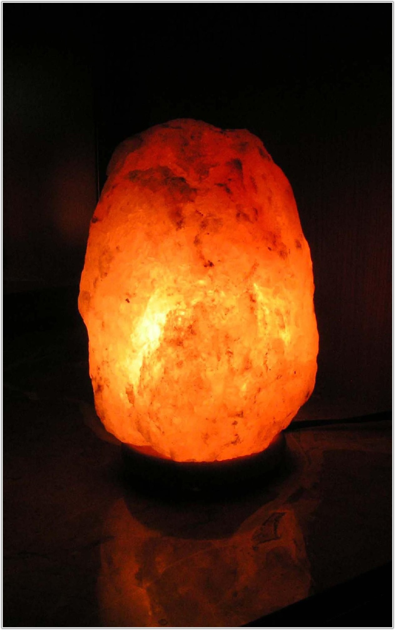 Wbm Himalayan Natural Crystal Salt Lamp