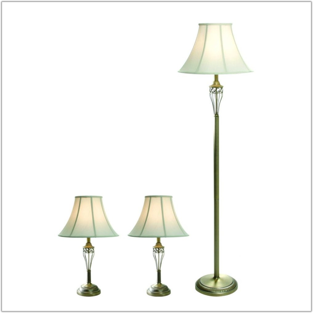 White Cottage Style Floor Lamps