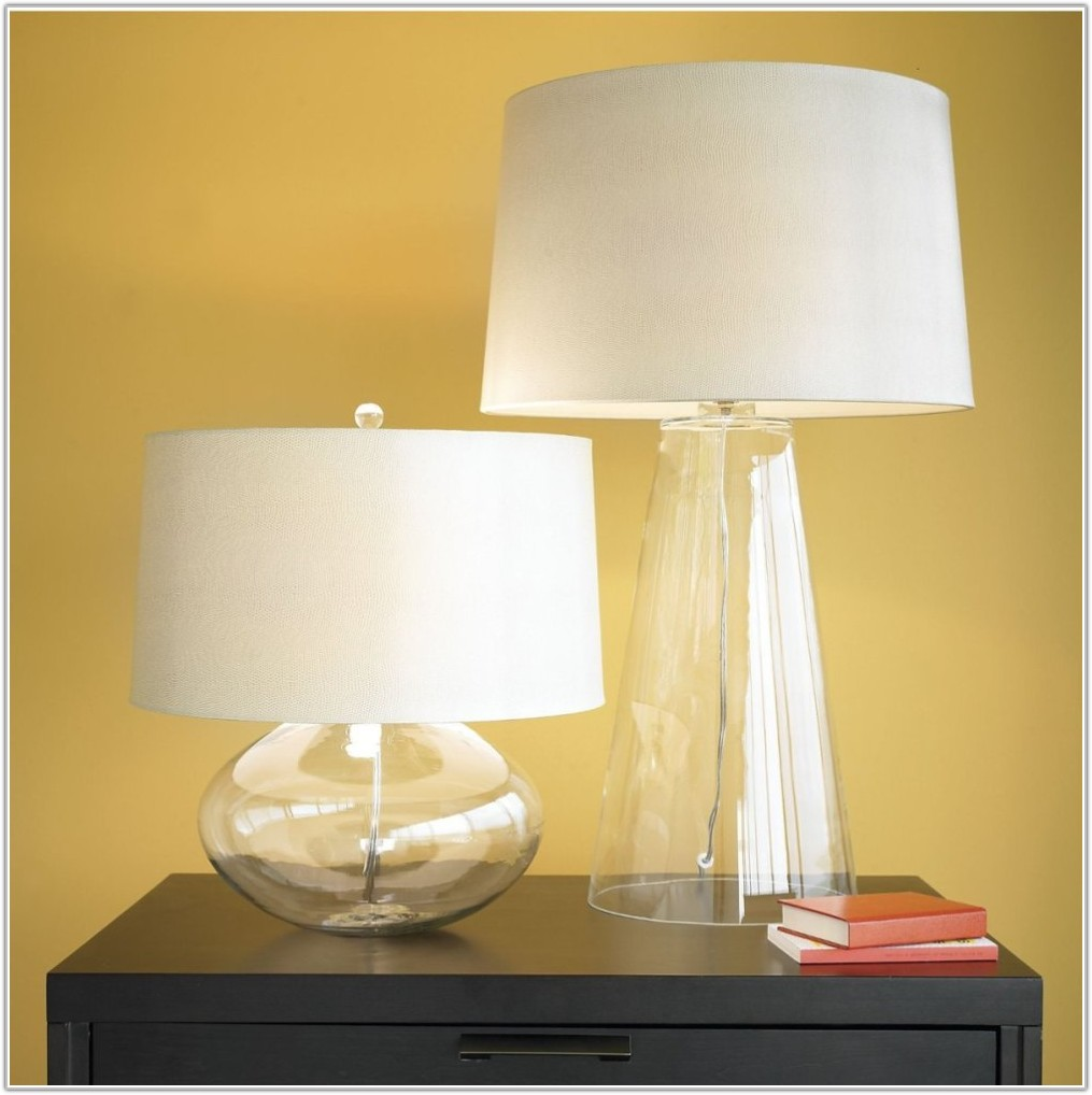 White Glass Table Lamp Shades