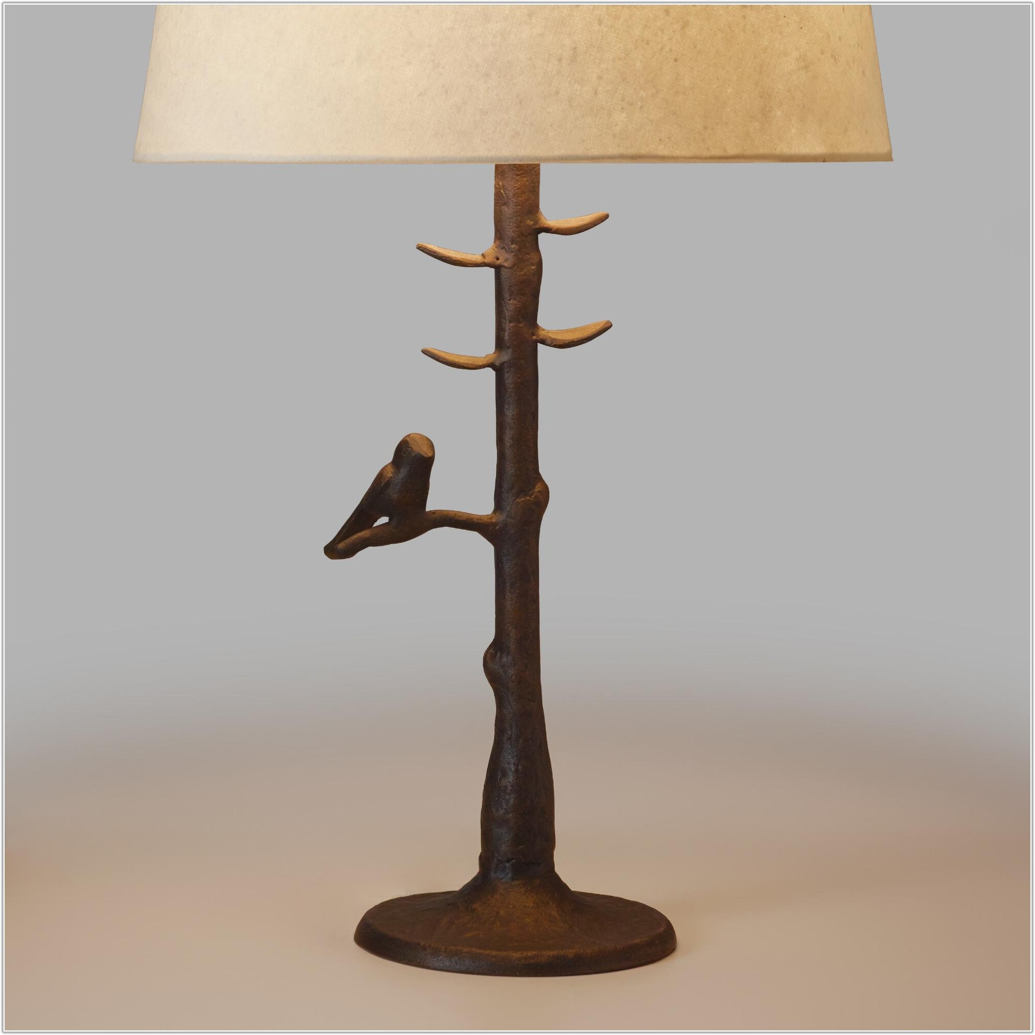 World Market Woodlands Table Lamp