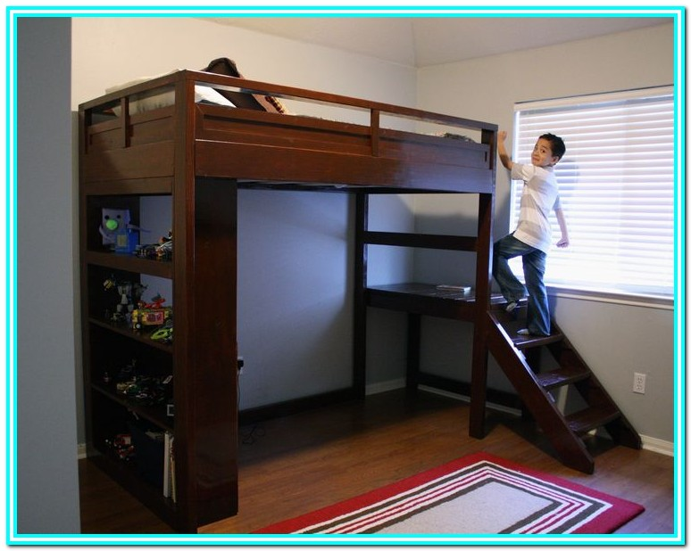 Ana White Full Size Storage Bed Plans