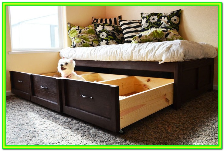 Ana White Twin Bed With Drawers