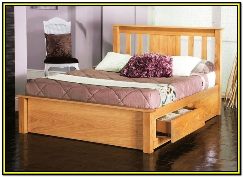 Bed Frame With Drawers King Size