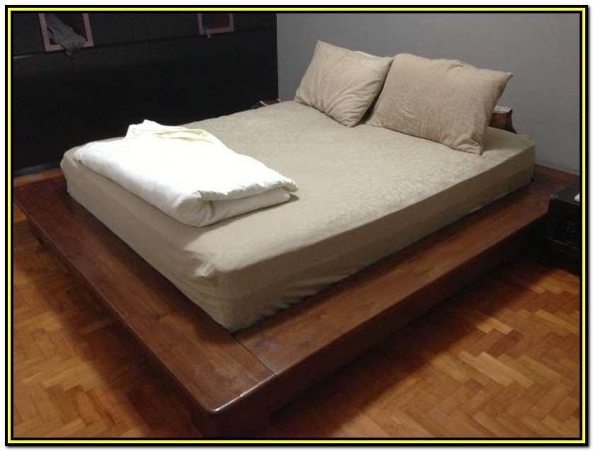 Bed Frame With Drawers Singapore