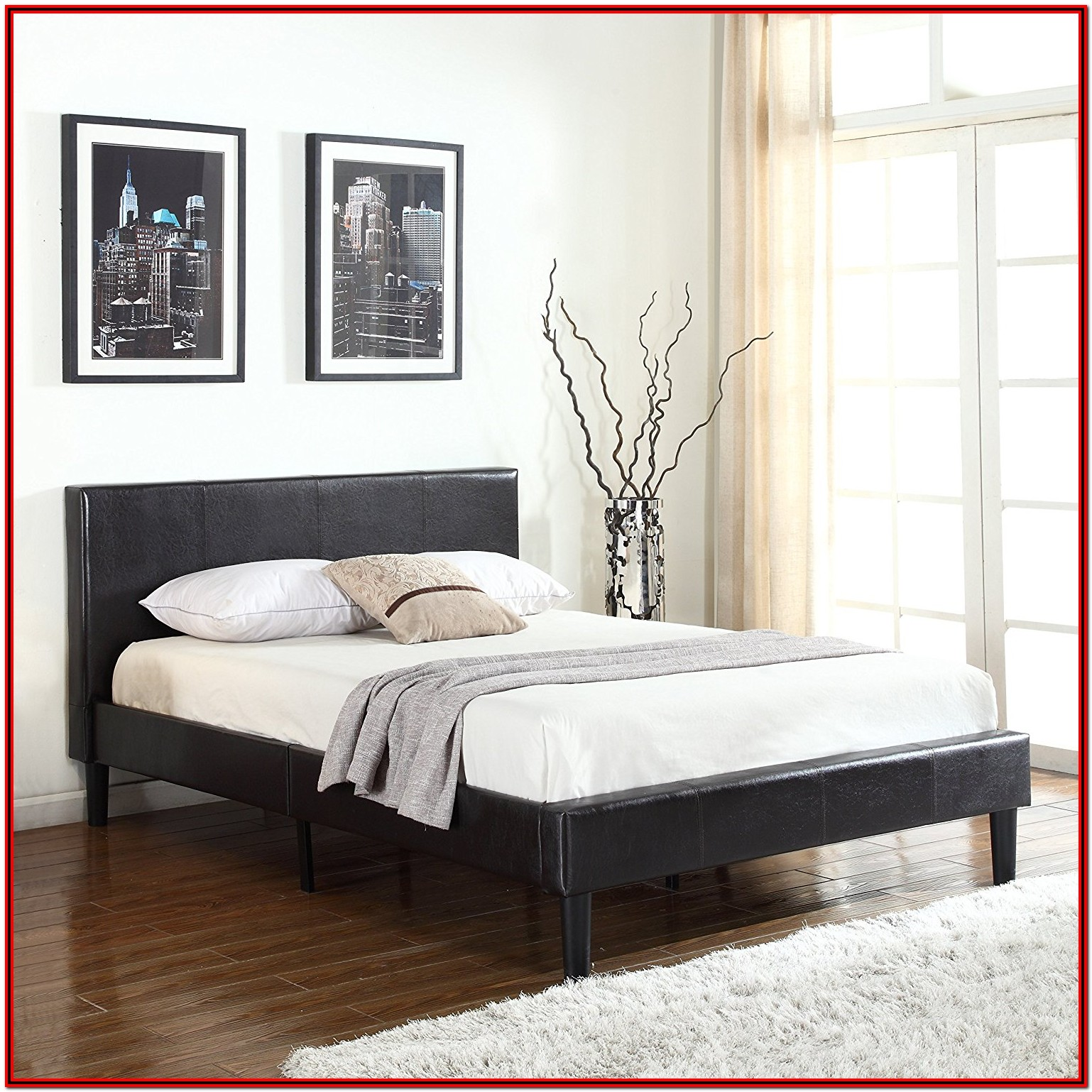 Bed Frame With Headboard Full Size