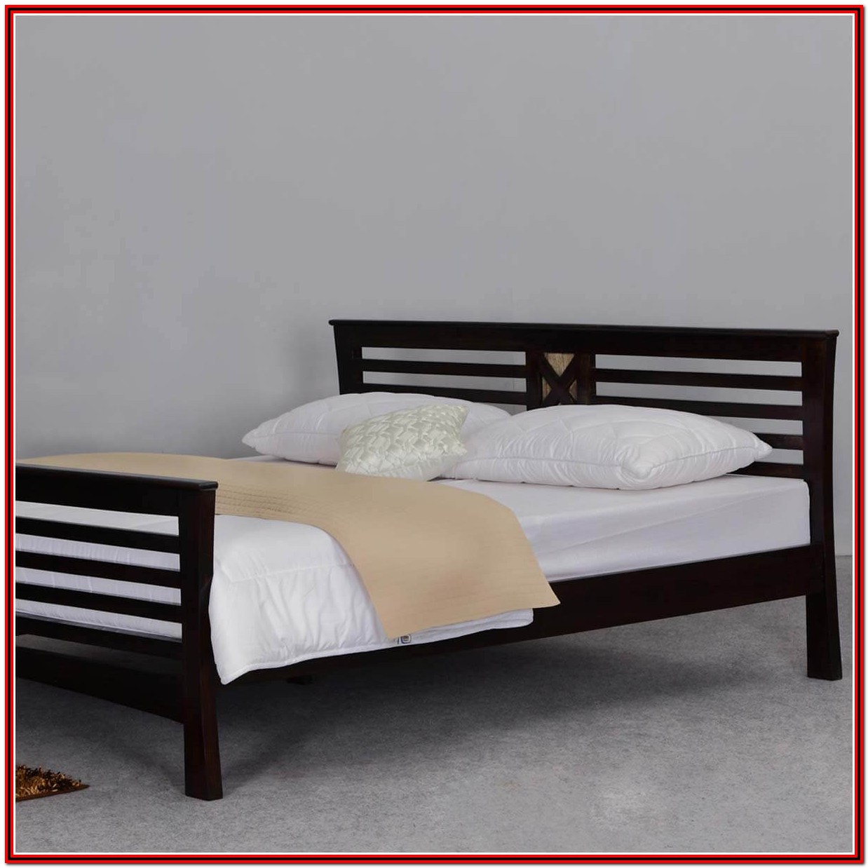Bed Frame With Headboard King Size
