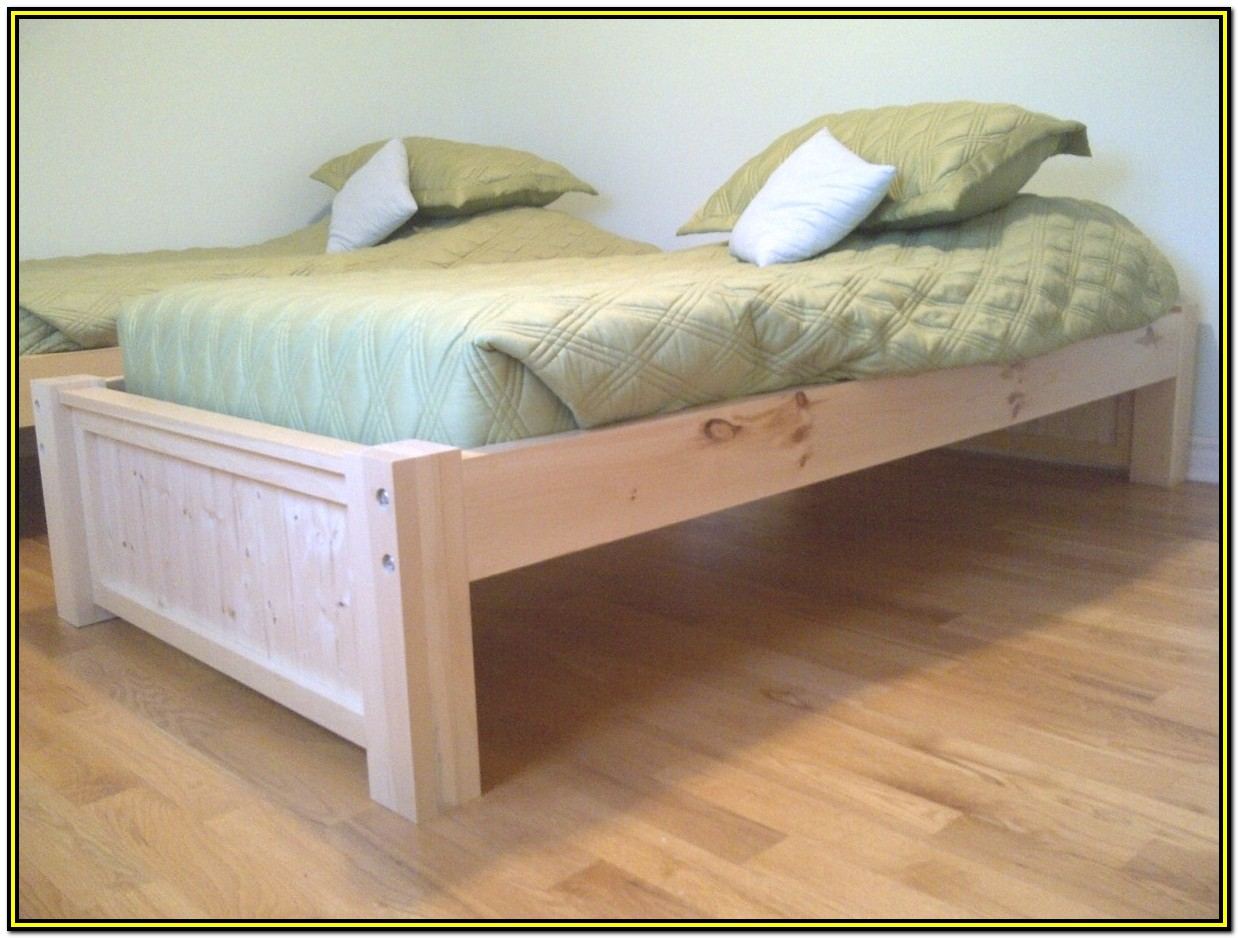 Bed Frames With Storage Diy