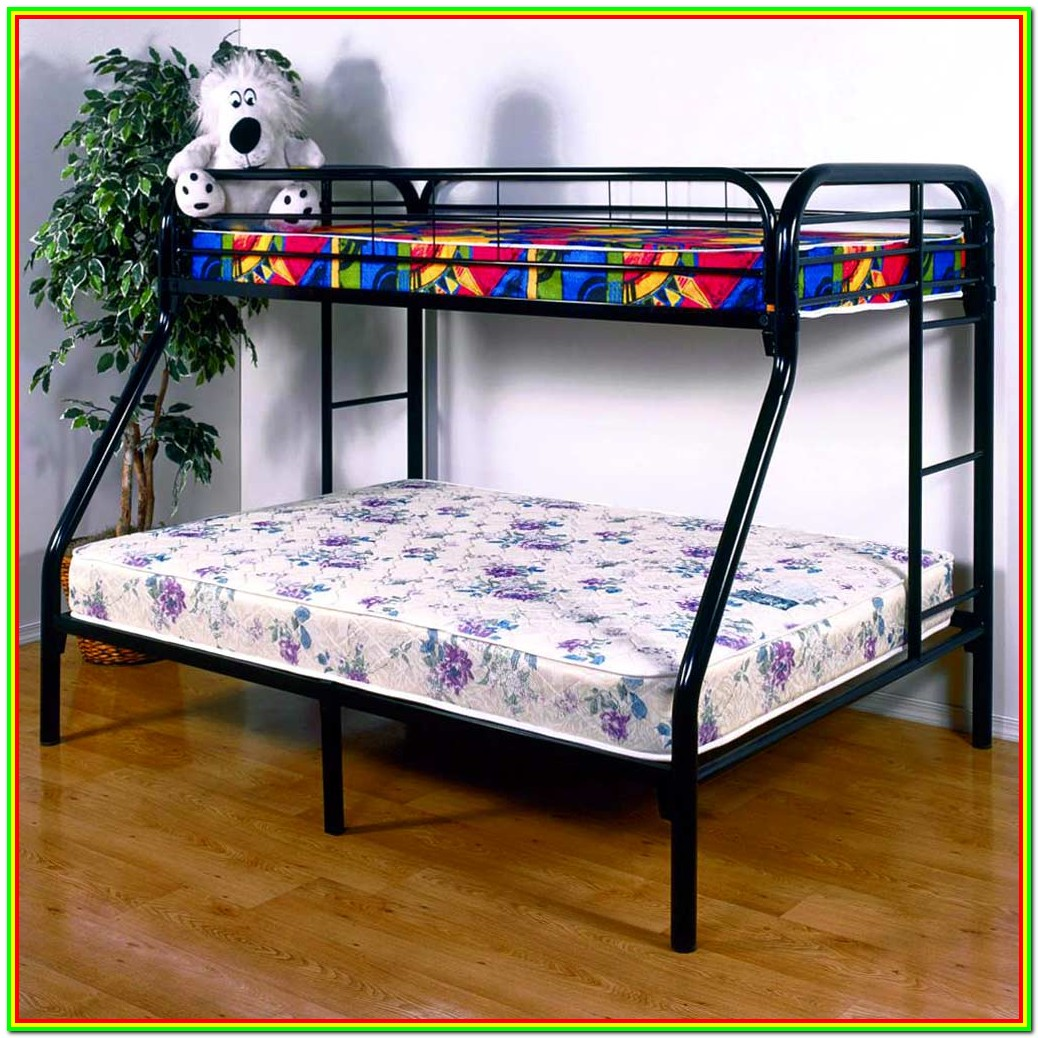 Black Metal Bunk Beds Twin Over Full