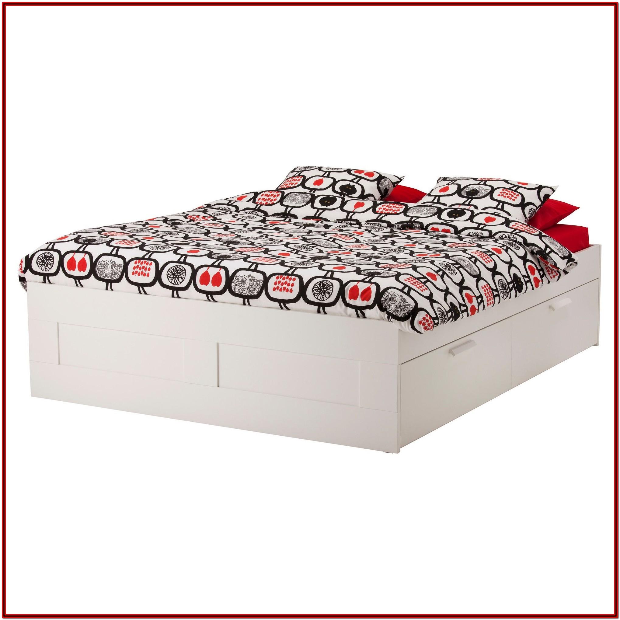 Brimnes Bed Frame With Storage & Headboard
