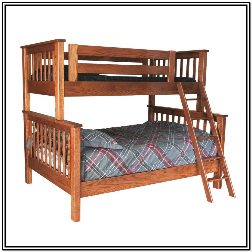 Bunk Bed Twin Over Full Wood
