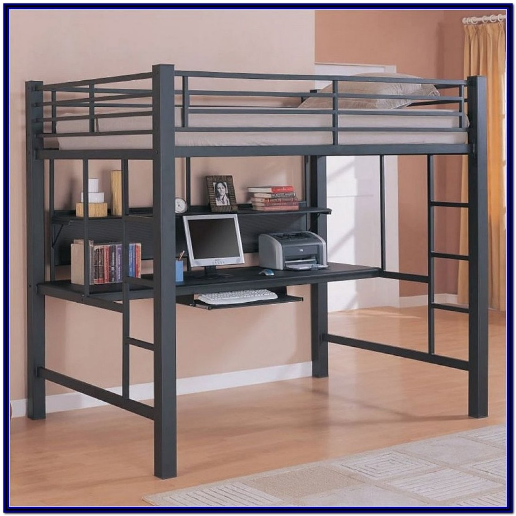Bunk Bed With Desk And Sofa Ikea