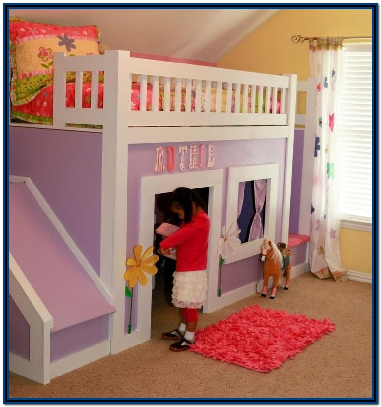 Bunk Bed With Stairs And Slide Plans