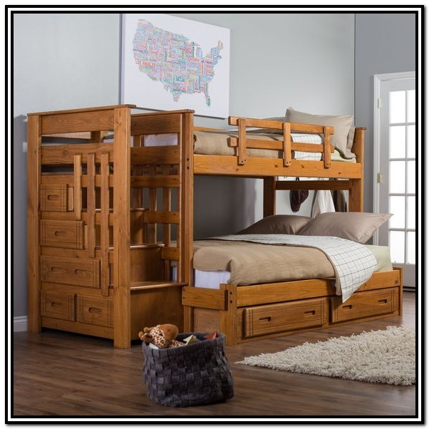 Bunk Bed With Steps And Storage