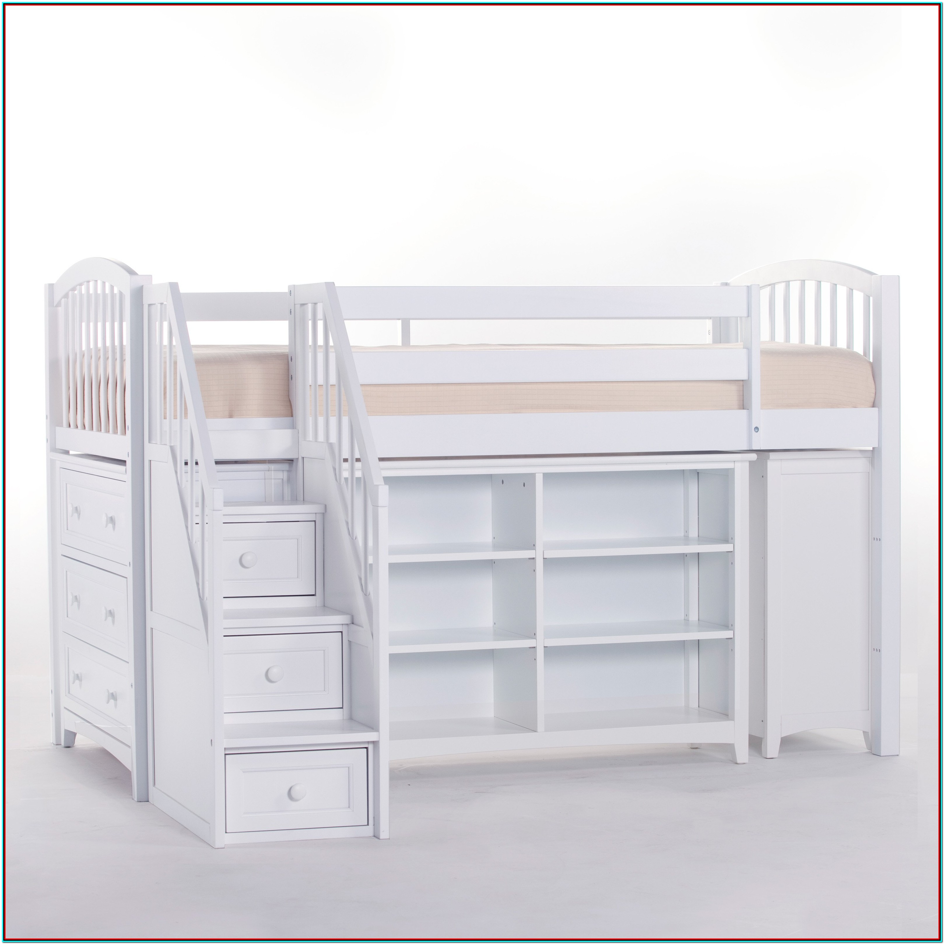 Bunk Bed With Storage Staircase