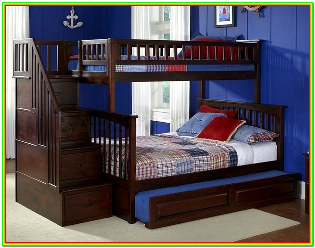 Bunk Beds Twin Over Full Stairway