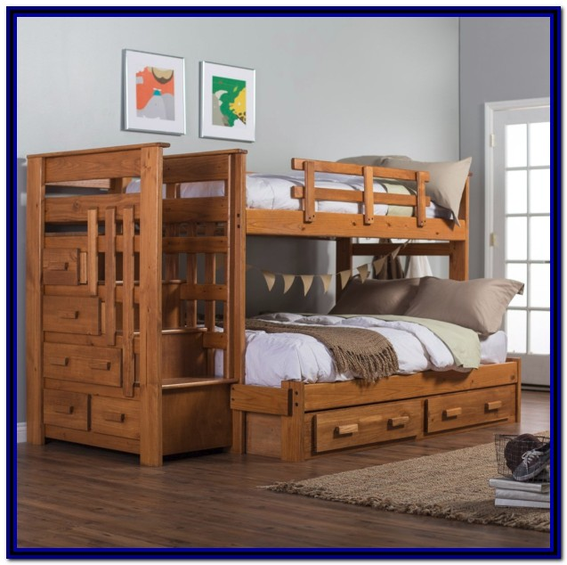 Bunk Beds With Staircase And Storage