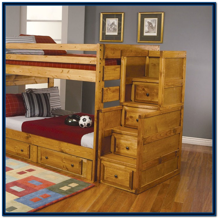 Bunk Beds With Staircase Drawers