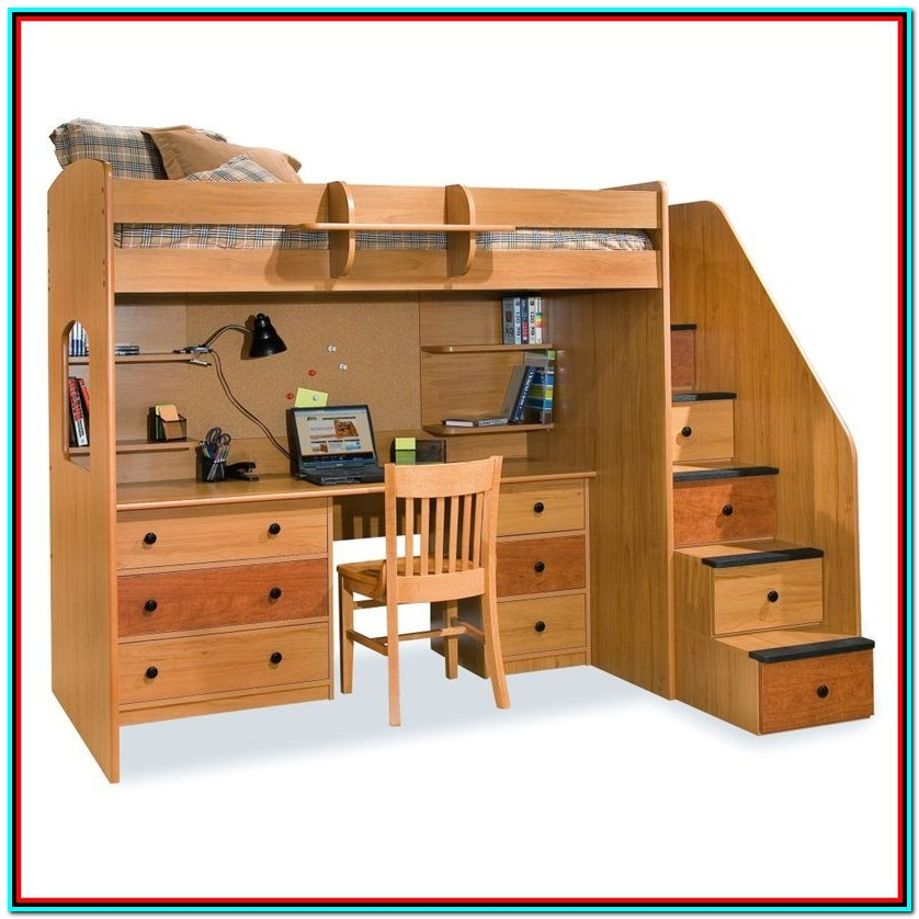 Bunk Beds With Storage And Steps