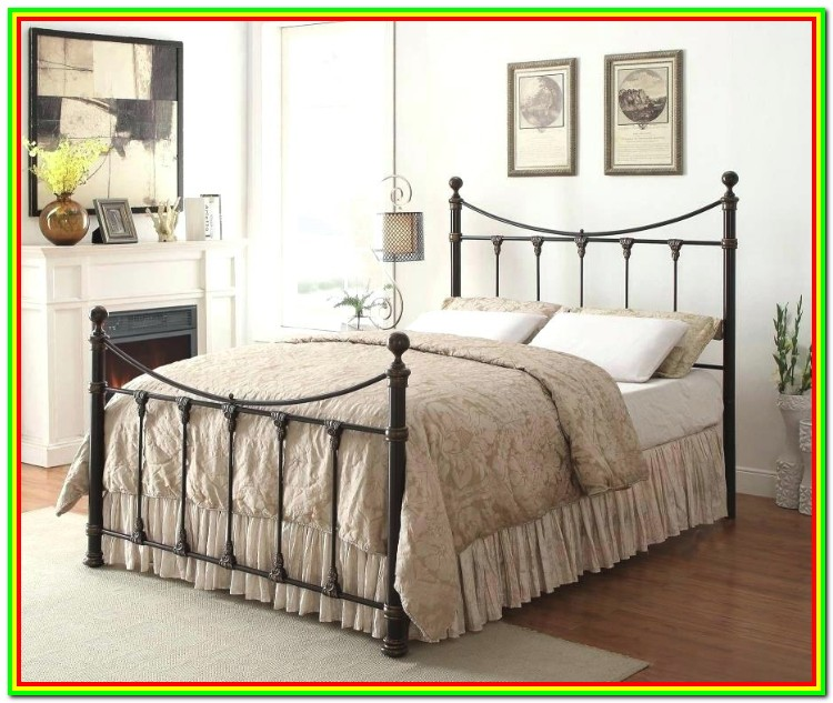 Cal King Bed Frame Headboard Footboard