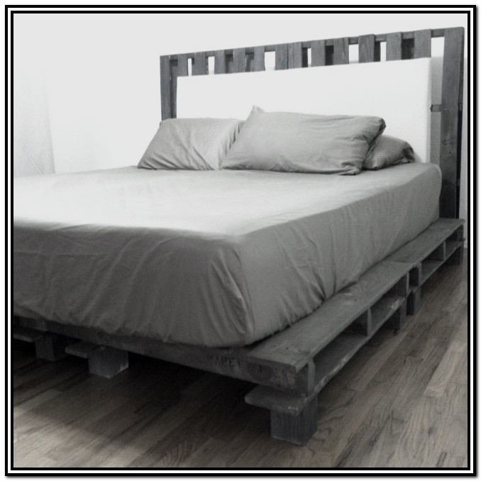 Cal King Bed Frame With Headboard