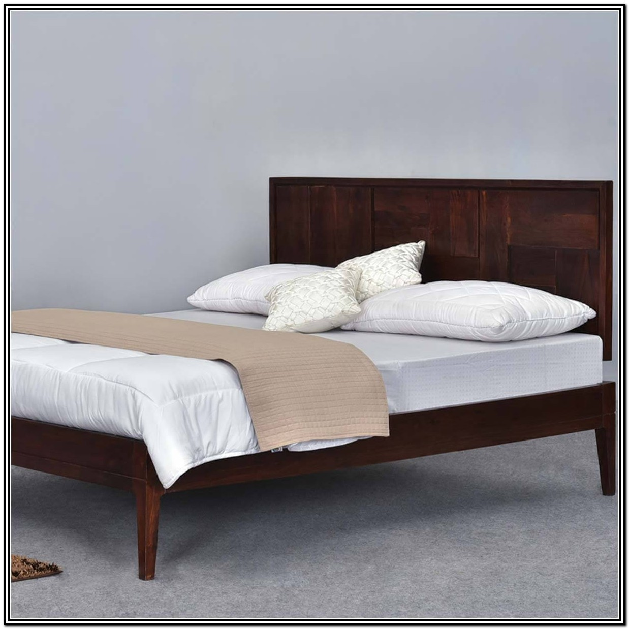 California King Bed Frame Real Wood