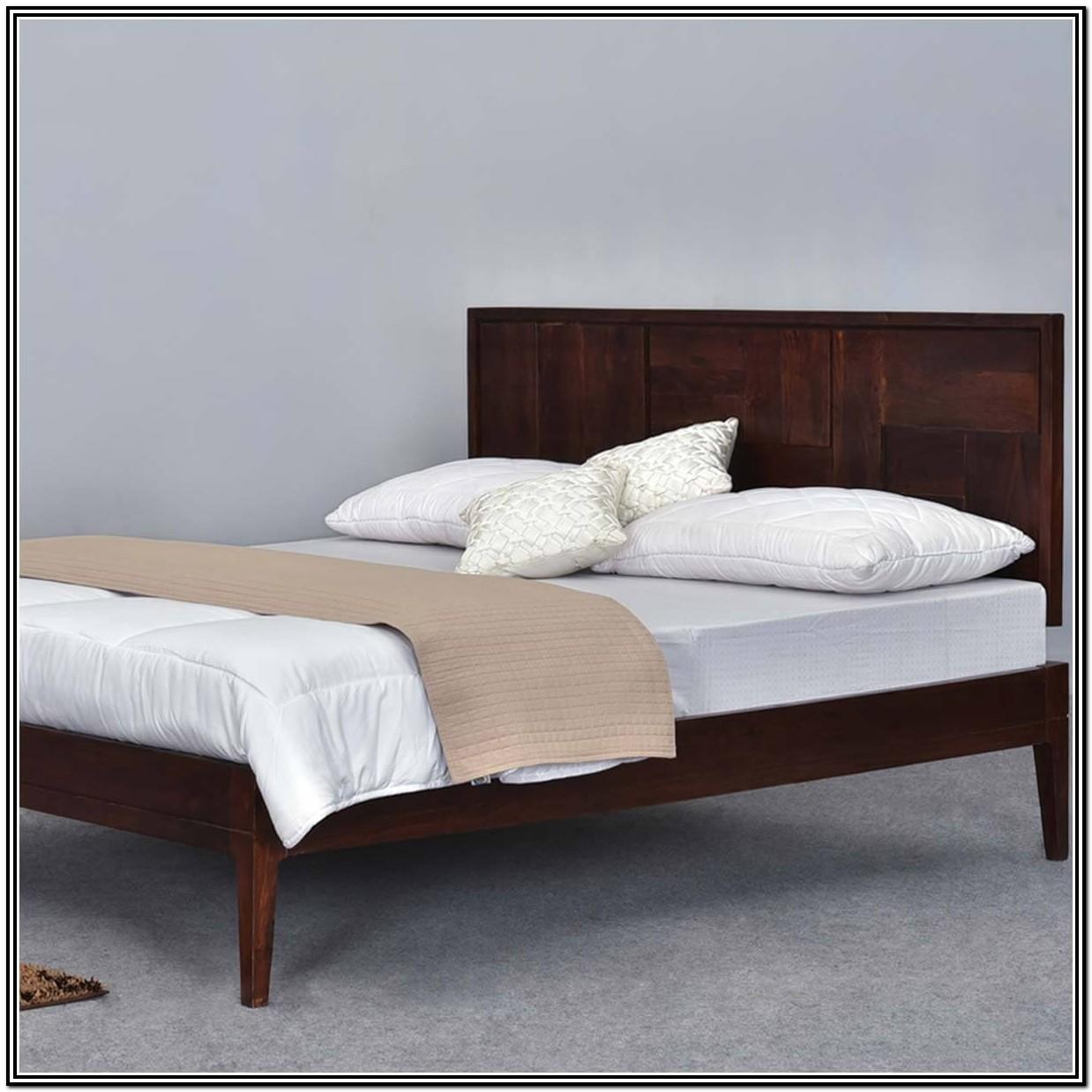California King Platform Bed Frame Wood