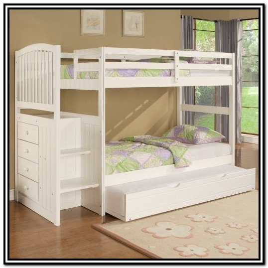 Childrens Bunk Beds With Stairs And Storage