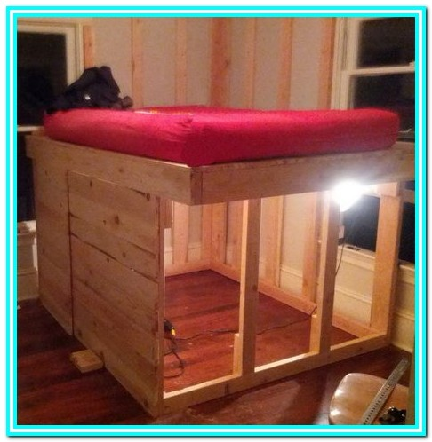 Diy Full Size Bed Frame With Storage Plans