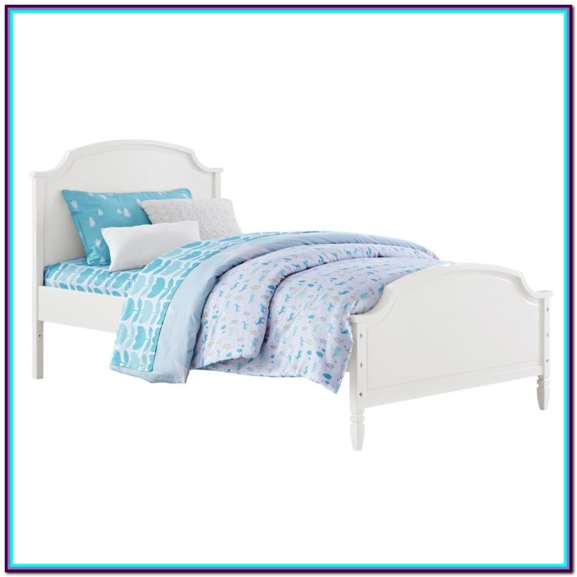 Dorel Living Vivienne Twin Over Twin Bunk Bed White