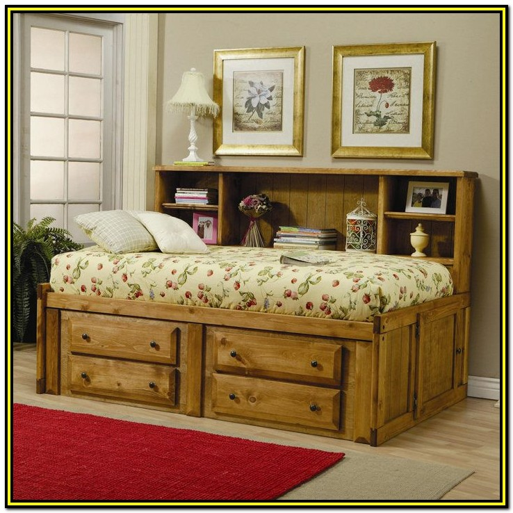 Double Bed Frame With Drawers Underneath
