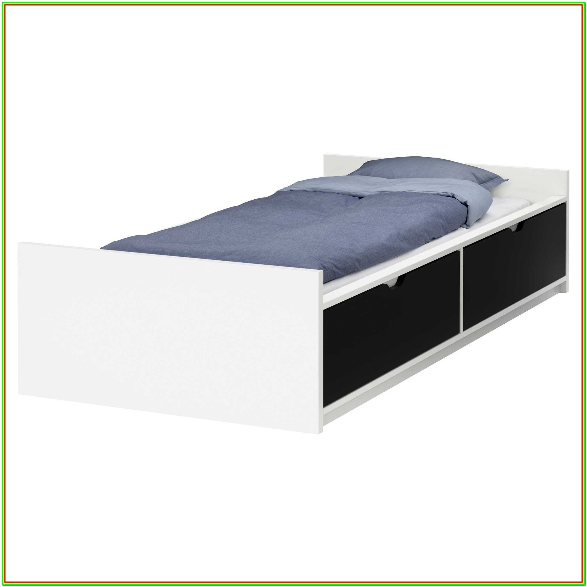 Double Bed Frames With Storage Drawers