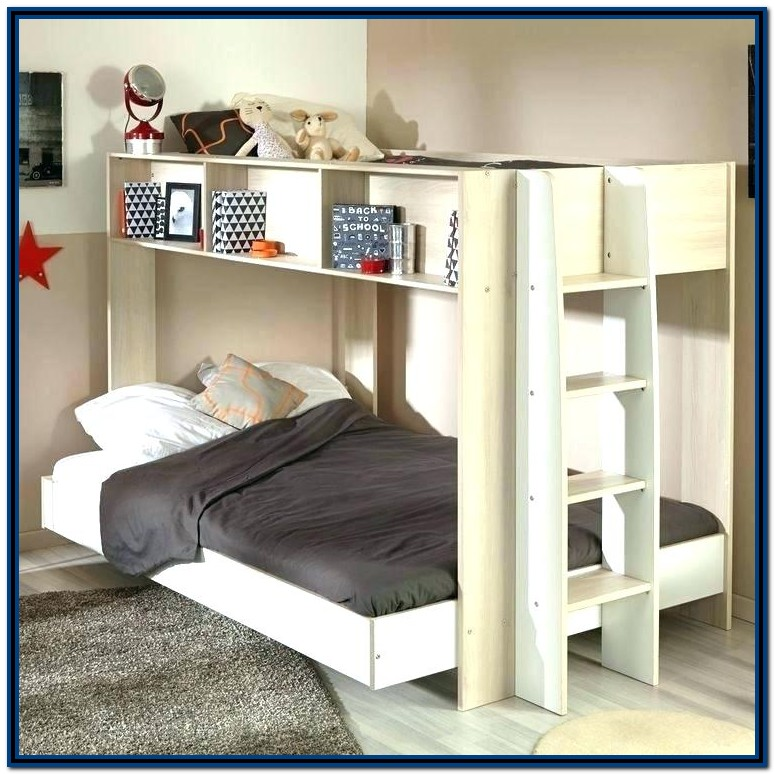 Double Loft Bed With Desk Australia