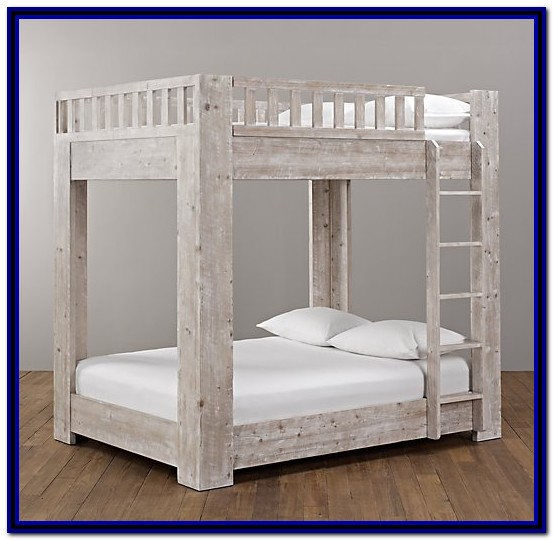 Full Over Full Bunk Beds Wood