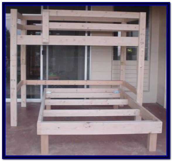 Full Size Bunk Bed Plans Free