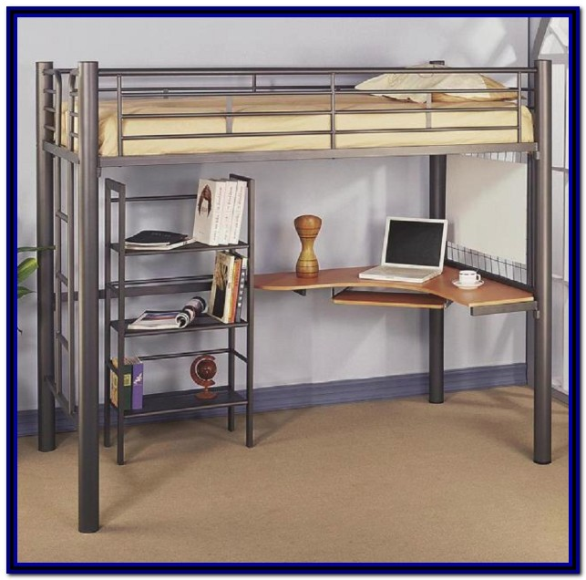 Full Size Bunk Bed With Desk Ikea