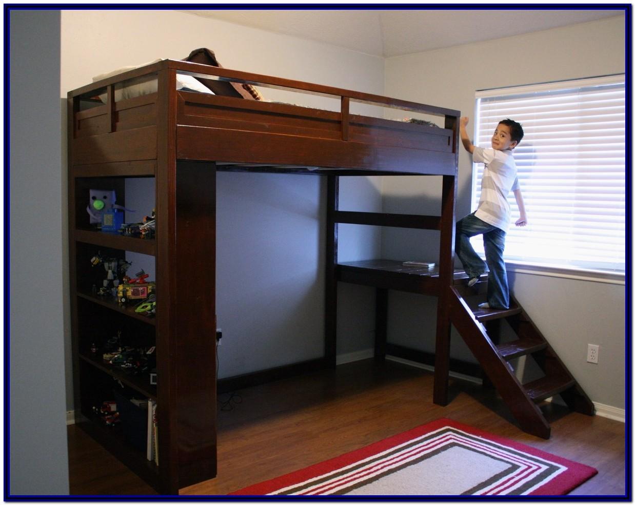 Full Size Bunk Beds Diy