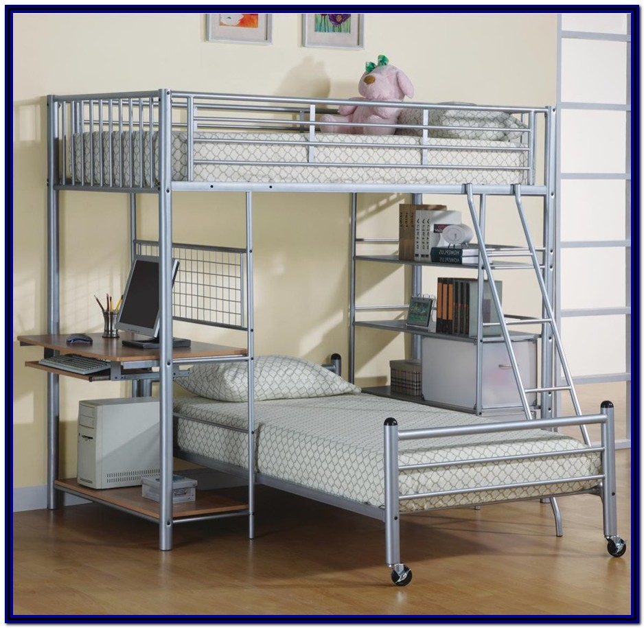 Full Size Loft Bed With Stairs Ikea