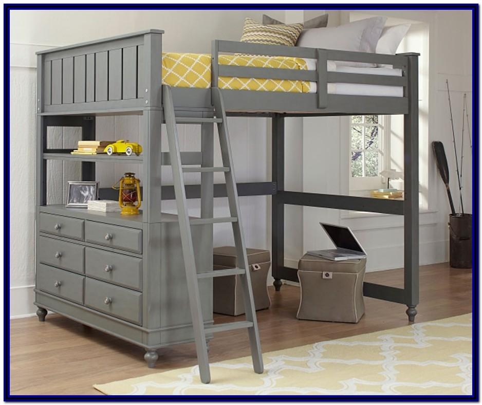 Full Size Loft Bunk Bed Plans